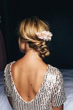 ROBE GLITTER Sequin Rose, Rose Pale, Glitter Roses, Backless, Dressing, Crop Tops, Inspiration, Women, Fashion