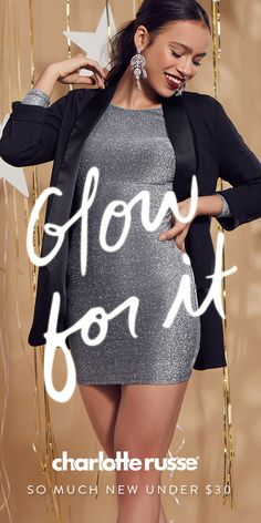 Hey babe, party season's here...you ready to show stop? From glitz & glam bodycon dresses to LBDs--we got you! Glow for it in that new new.