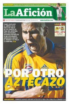 Portada La Afición Monterrey 1/12/13 POR OTRO AZTECAZO