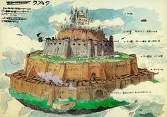 """""""El castillo en el cielo"""""""