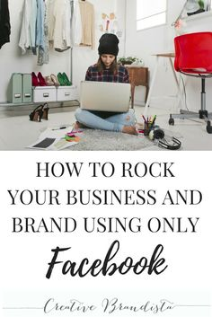 Facebook online marketing strategies for creative entrepreneurs to build a successful business and brand.