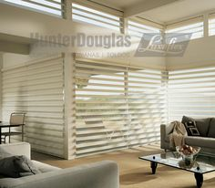 Cortinas Pirouette® HunterDouglas Luxaflex®