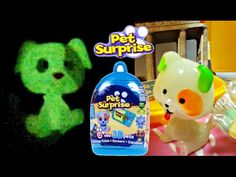 Pet surprise offers to kids new collection of 18 different world's famous places and 24 cute surprise 3D pets. Some of surprise pet toys glow in the dark.