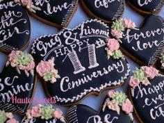 Chalkboard Lettering cookies