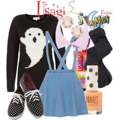 """Usagi"" by sailormooncloset on Polyvore"