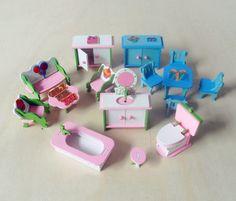 Barato Rosa de madeira casa de bonecas mobiliário crianças Pretend Play brinquedos para meninas quartos presentes para crianças em miniatura Dollhouse Miniature Dolls, Compro Qualidade Móveis de brinquedo diretamente de fornecedores da China:            Material: madeira                            Tamanho da embalagem: 9,5x4,5x12,5                            Em