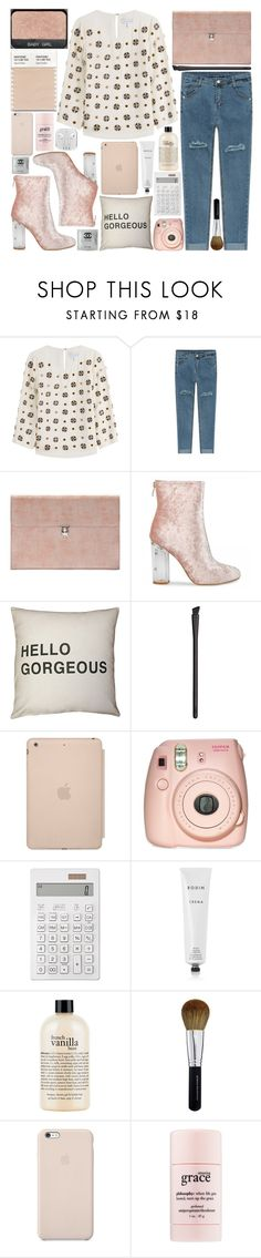 """""""Untitled #495"""" by inkcoherent on Polyvore featuring Diane Von Furstenberg, Alexander McQueen, NARS Cosmetics, Black Apple, Fujifilm, Muji, Rodin, philosophy and Bare Escentuals"""