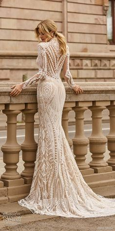 Long Sleeve Bridal Dresses, Wedding Dress Sleeves, Boho Wedding Dress, Wedding Attire, Bridal Gowns, Dresses With Sleeves, Evening Dresses For Weddings, Best Wedding Dresses, Designer Wedding Dresses