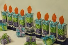 A sweet Hanukkah centerpiece!