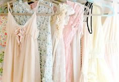 pink dresses photo by Tamar Schechner Nest Pretty Things