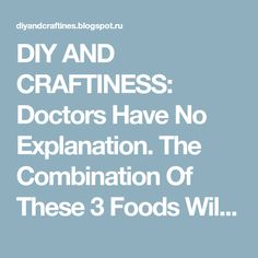 DIY AND CRAFTINESS: Doctors Have No Explanation. The Combination Of These 3 Foods Will Return Your Vision And Cleanse Your Liver Page 2