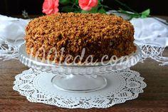 Кофейный медовик: рецепт с пошаговым фото