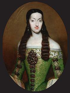 María Luisa de Orléans. REINA DE ESPAÑA