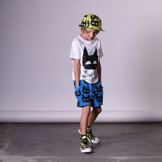 BOYS • Minti heroes hat, tee & shorts. All available at Tiny Style in Noosa & online •    www.tinystyle.com.au/brands/Minti