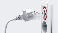 The PumPing Tap is a spring-loaded electrical socket that physically ejects plugs belonging to appliances and electronics that are not being used but still drawing small amounts of energy in standby mode.