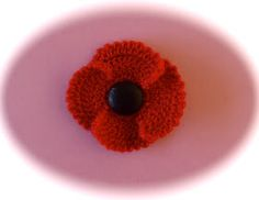 Wendy Poole Craft: Poppy Day 2012 - Crochet Your Poppies Now !!