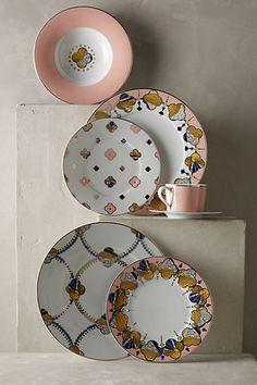 Cliveden Dinnerware #anthrofave #anthropologie.com