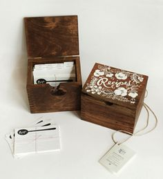 hand painted recipe box - riflepaperco.com