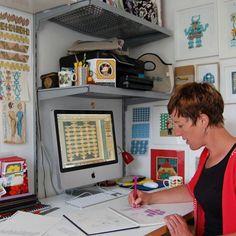 Charlotte Done of Folksy shop Strange Bird Design