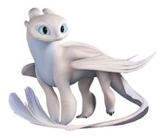 this is the light fury from how to train ur dragon 3 the hidden world u can now see it in theatres