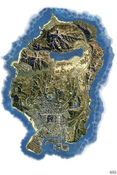 Image result for Gta 5 map