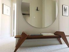 Hanna Wessman - Page 2 of 357 - Ikea Lighting, Round Mirrors, Ikea Hack, Teak, My Design, New Homes, Living Room, Interior Design, House