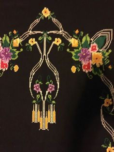 Seccade Cross Stitch Embroidery, Drop Earrings, Cami, Alphabet, Baskets, Hearts, Dots, Drop Earring