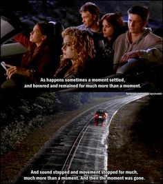Haley, Brooke, Peyton, Nathan, and Lucas - the start of an amazing family
