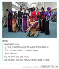 Funny pictures about Most Evil Villain Ever. Oh, and cool pics about Most Evil Villain Ever. Also, Most Evil Villain Ever photos. Bambi Disney, Disney Pixar, Disney Memes, Disney Amor, Humour Disney, Disney Babys, Film Disney, Disney And Dreamworks, Disney Love