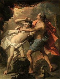 Orpheus And Eurydice Gaetano Gandolfi