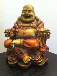 Fat Buddha Statue Smiling Buddha Laughing Buddha by phantomas2011