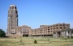 Abandoned in Buffalo, NY. Wow, would like to be able to walk through this whole building.