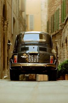 Classic Fiat 500 #fiat500