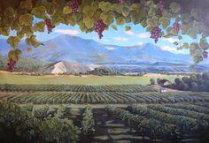 mural for wine cellar ?