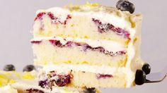 Lemon Blueberry Cake  - Delish.com