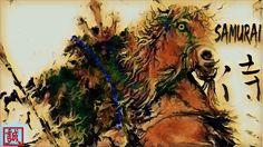 侍 SAMURAI をお絵描きしました。 – Art painting by nodasanta