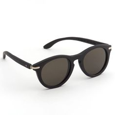 These dark sunglasses are made from bamboo, and add an element of chic to any outfit. 10 more gorgeous eco-friendly pieces for summer: http://www.womenshealthmag.com/life/green-shopping/