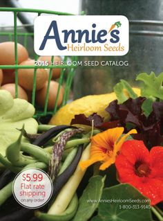 69 Free Seed and Plant Catalogs: Annie's Heirloom Seeds Catalog