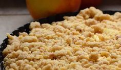 Streuselkuchen mit Apfel – Apple Crumble