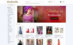 #HTE   India's Craftsvilla Lands $34M For Its Online Marketplace For Ethnic Products Craftsvilla an India-based ma