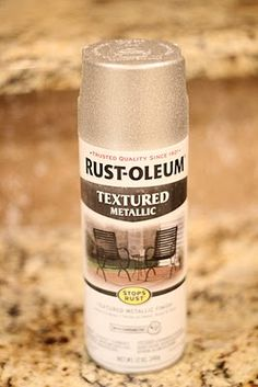 Rust-Oleum Textured Metallic Spray Paint in Silver