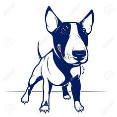 blue bulls silhouette - Google Search