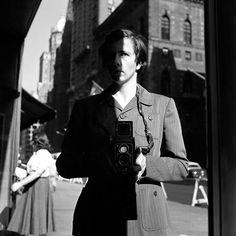 Self Portrait, New York, 1953, by Vivian Maier