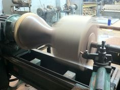Side table on the lathe
