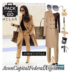 """Pack & Go: Milan"" by avon-capital-federal-argentina ❤ liked on Polyvore featuring Victoria Beckham, Doublju, Joseph and Avon"