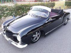 black convertible karmann ghia