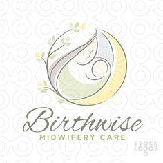 midwife birth logo by NancyCarterDesign