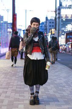 ストリートスナップ [minami] | COMME des GARÇONS, NOZOMI ISHIGURO, TOKYO BOPPER, UNBILICAL, used, アンビリカル, コムデギャルソン, トーキョーボッパー, ノゾミイシグロ, 古着 | 原宿 | Fashionsnap.com