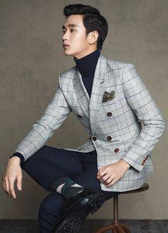 GUY CANDY: Kim Soo Hyun photo shoot for ZioZia's 2014 fall fashion