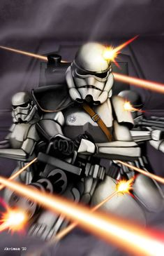 Storm Troopers by Dmitry Lapaev